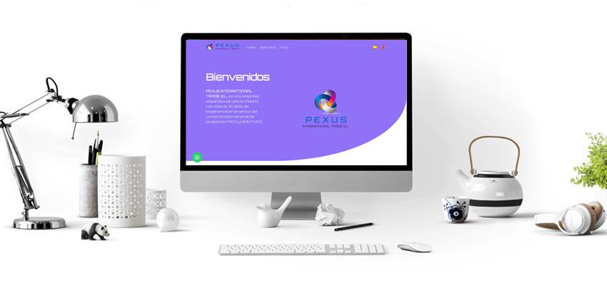 Proyecto Web PEXUS INTERNATIONAL TRADE