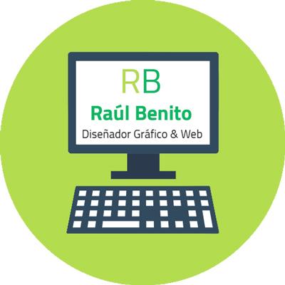 Contacto Raúl Benito Diseñador Gráfico & Web