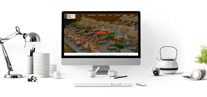 Proyecto Web Gran Vía Catering